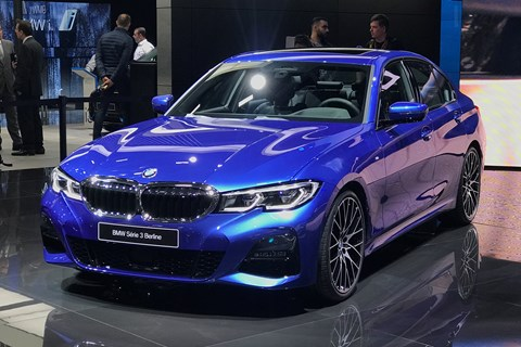 new bmw 2019 3 series g20 saloon debuts in paris car magazine. Black Bedroom Furniture Sets. Home Design Ideas