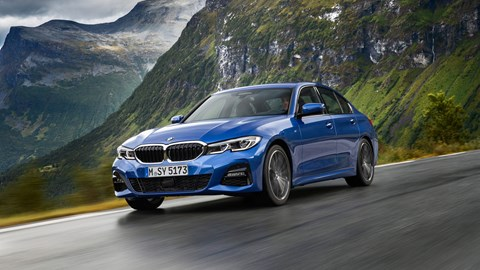 The new 2019 G20 BMW 3-series saloon