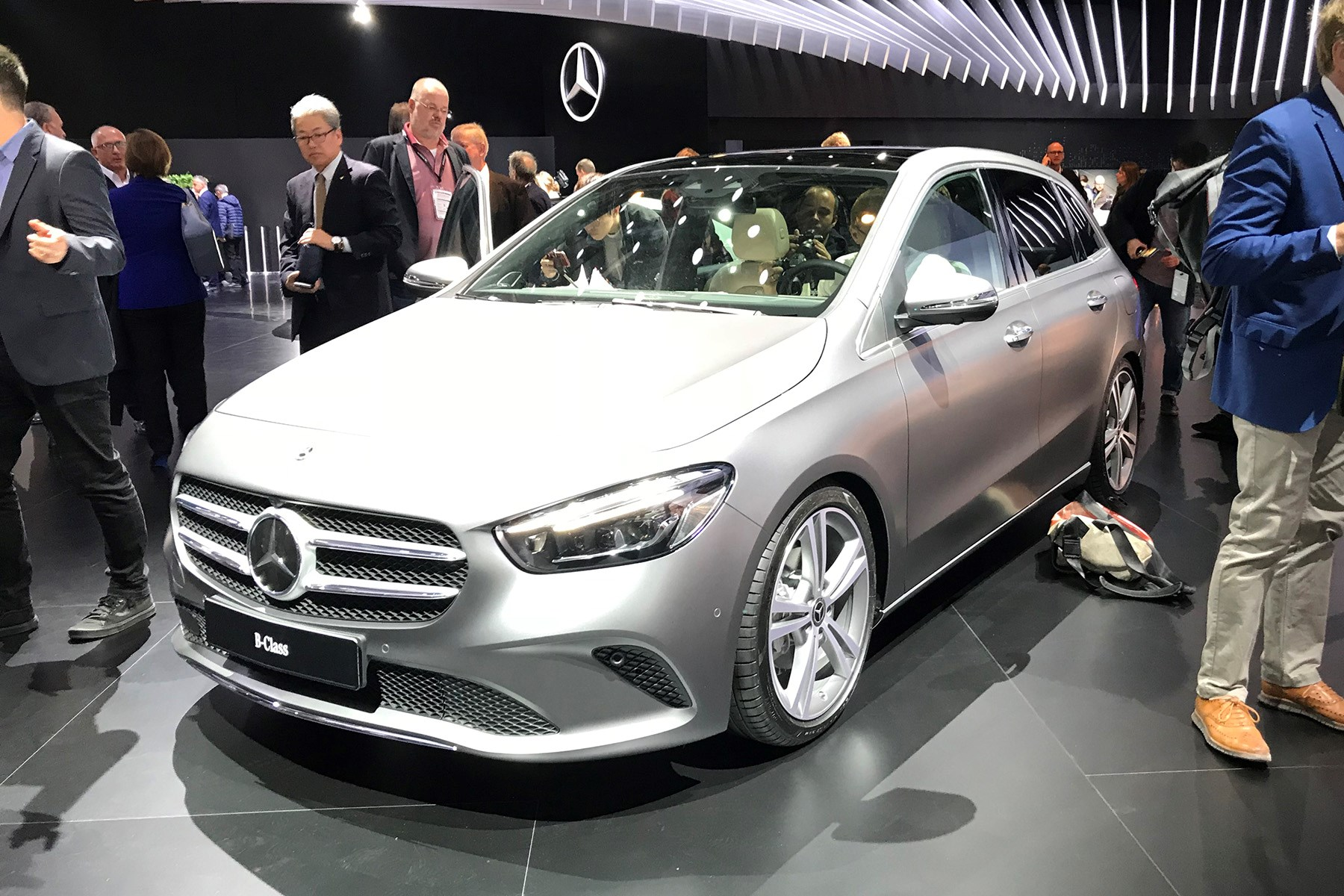 new mercedes bclass the mpv to take on suvs car magazine