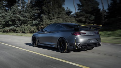 Motor New Infiniti Q60 Project Black S revealed: 2018 Paris Motor Show
