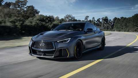 Infiniti Project Black S Hybrid Super Saloon With F1 Tech Revealed In Paris