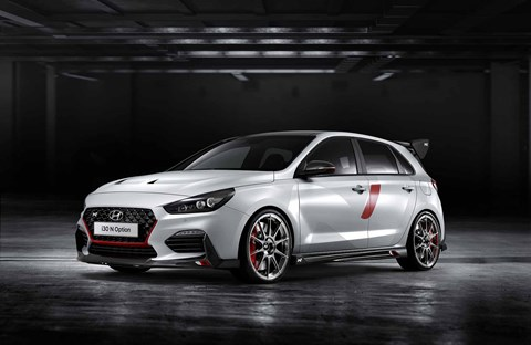 Hyundai i30 N Option personalisation programme at the 2018 Paris motor show