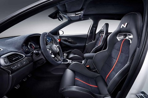 Hyundai i30 N Option interior equipment and spec