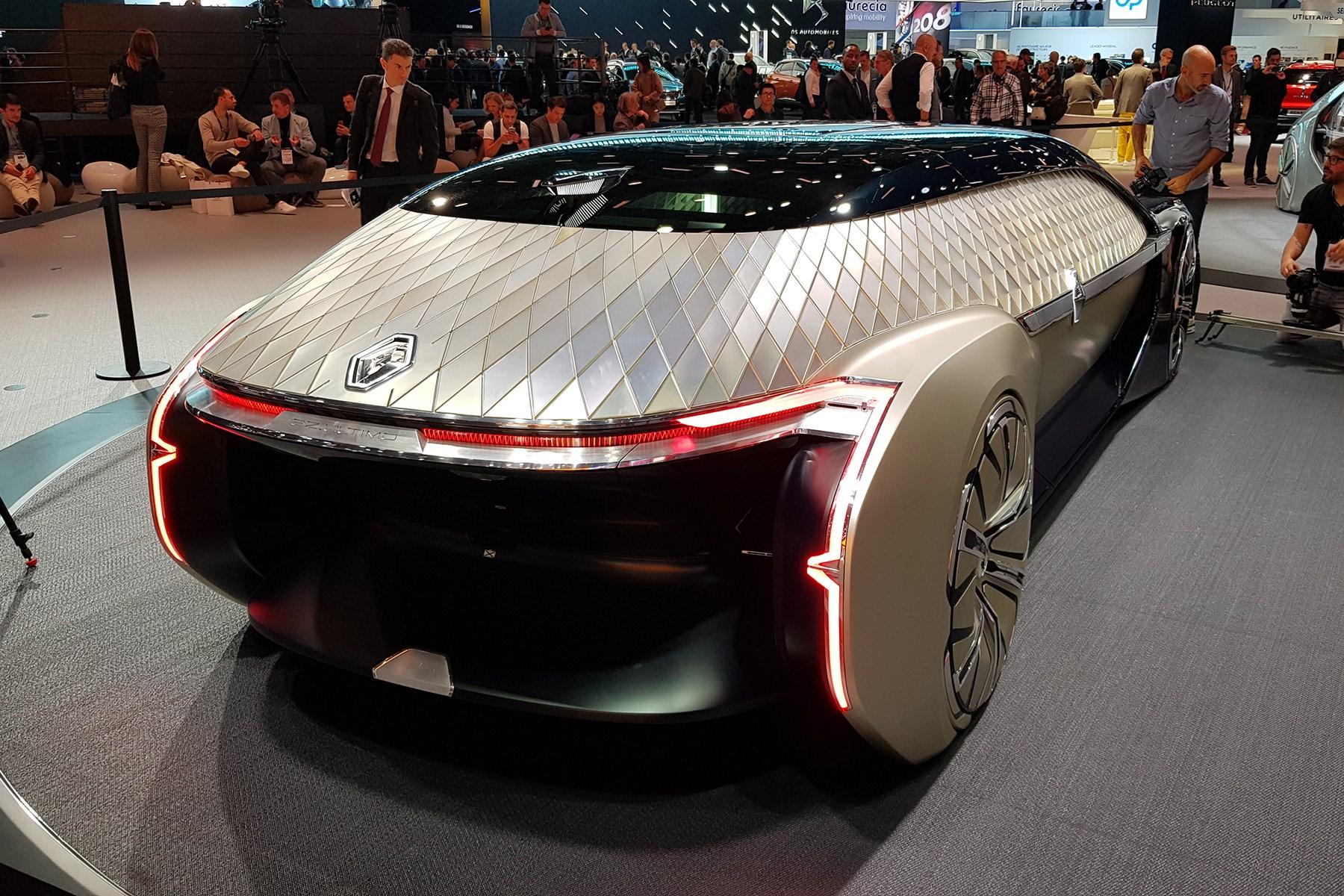 Renault Ez Ultimo A Robo Taxi Concept With Class Car Magazine