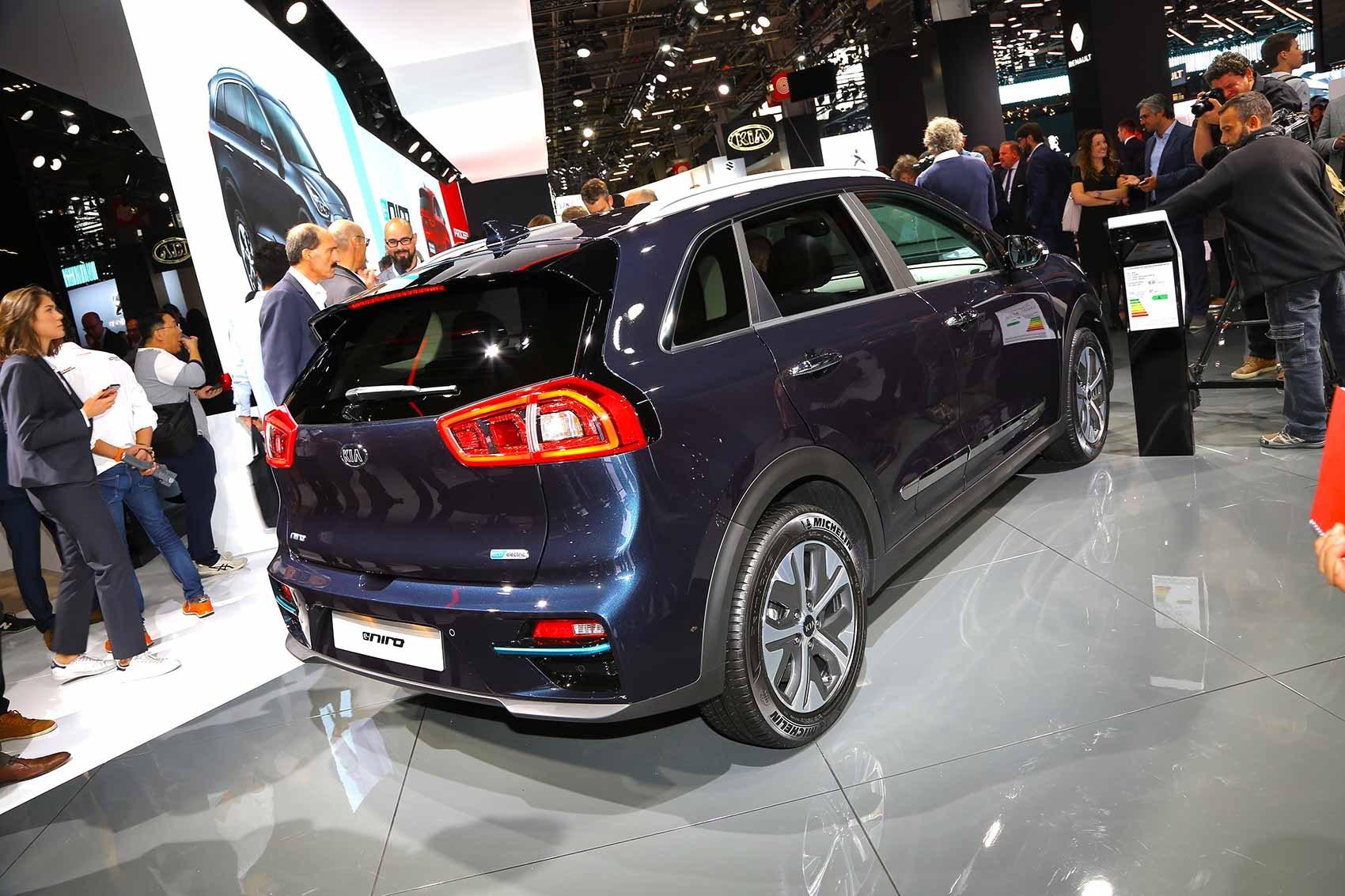 2018 Kia Niro All-electric Model >> Kia E Niro Electric Car Car Magazine
