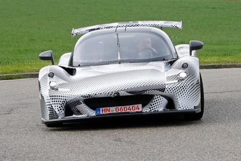 Dallara sports car prototype