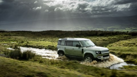 2020 Land Rover Defender off-road
