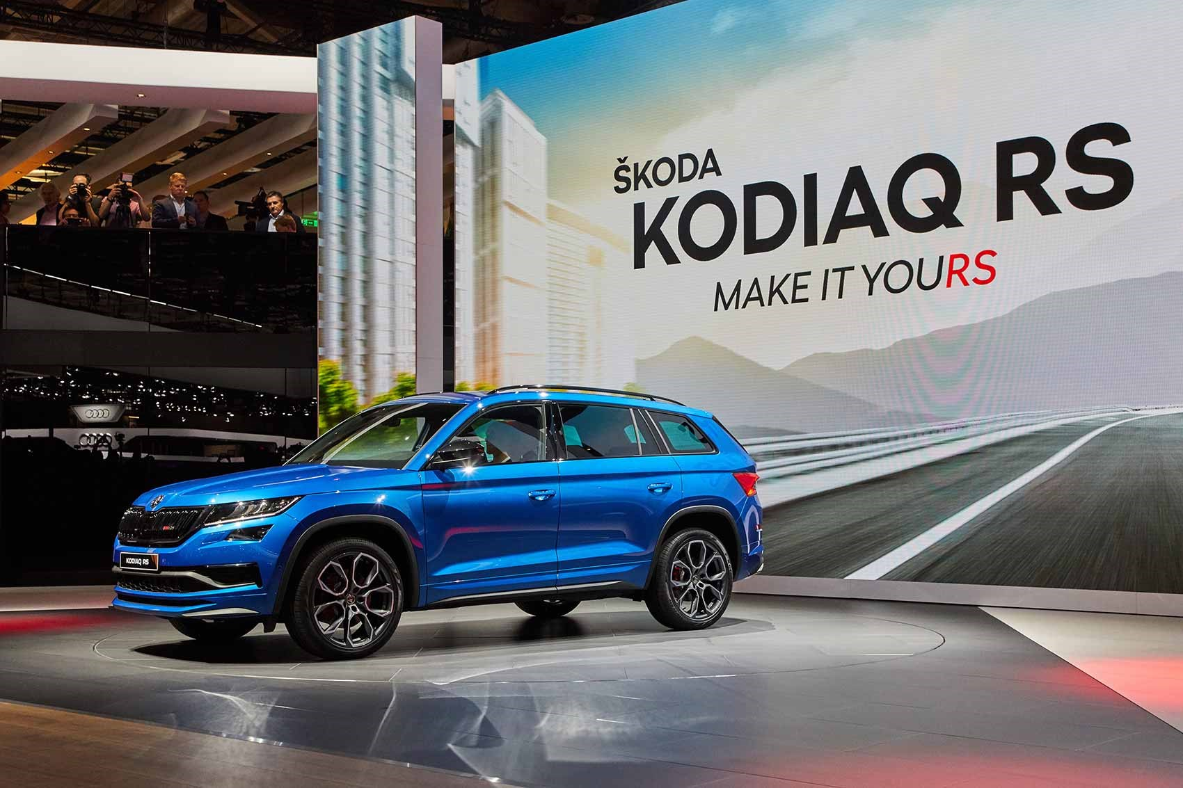 skoda kodiaq vrs revealed car magazine. Black Bedroom Furniture Sets. Home Design Ideas