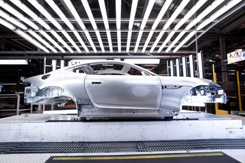 Jaguar F-type aluminium intensive architecture