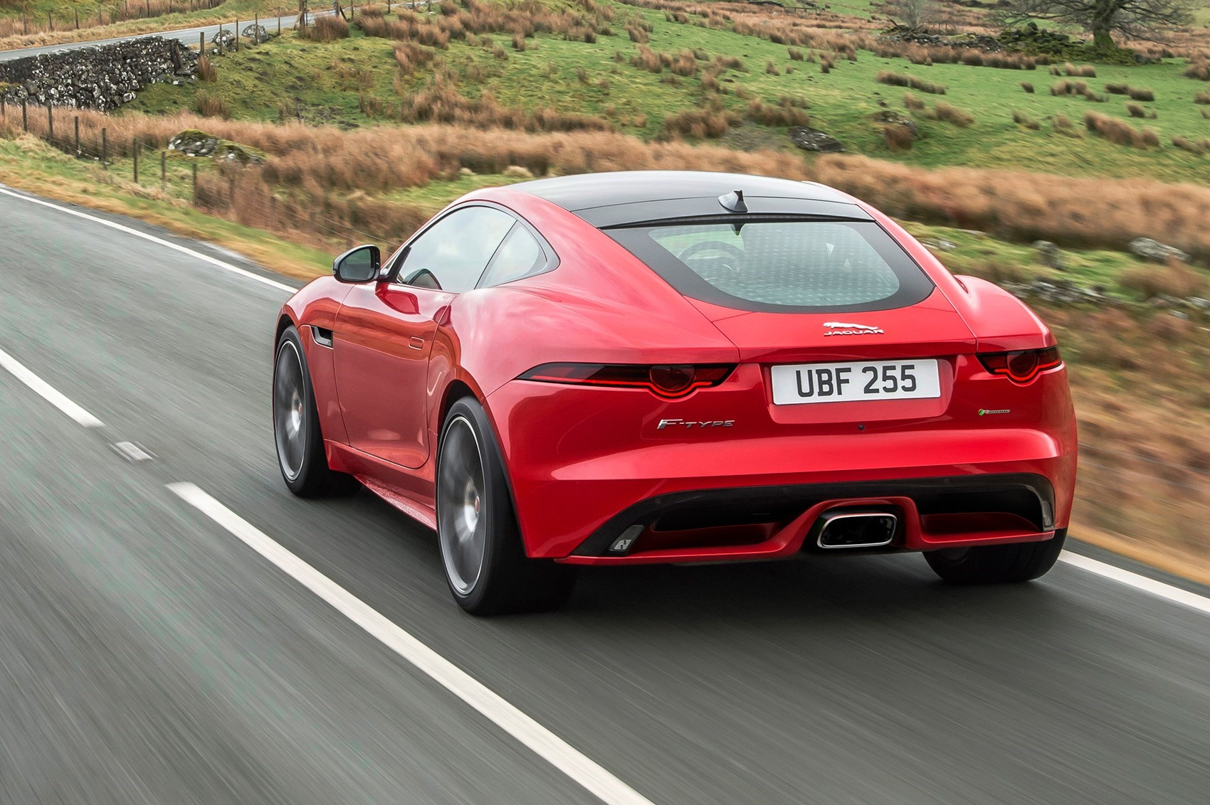 The Cur Jaguar F Type Coupe Has Extended To Include Four Cylinder