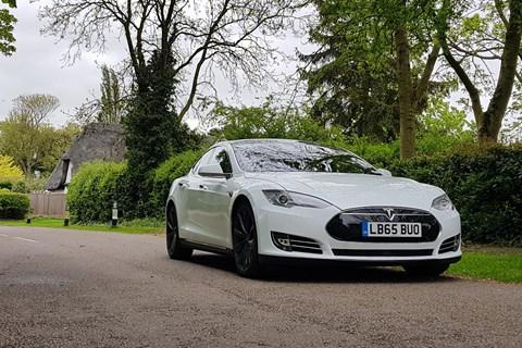 CAR magazine's Model S long-term test car