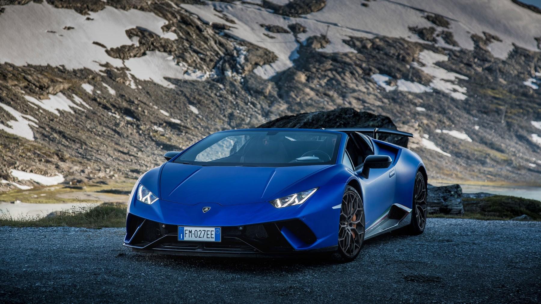 Lamborghini Huracán Performante Spyder Review Drop Top