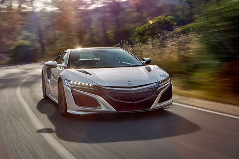 Honda NSX: one of the cleverest hybrid cars we've ever driven
