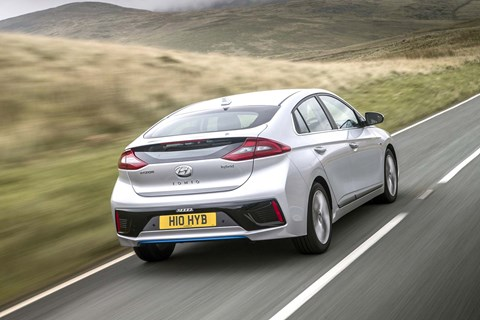 Hyundai Ioniq Hybrid: one of three flavours of electric Ioniq