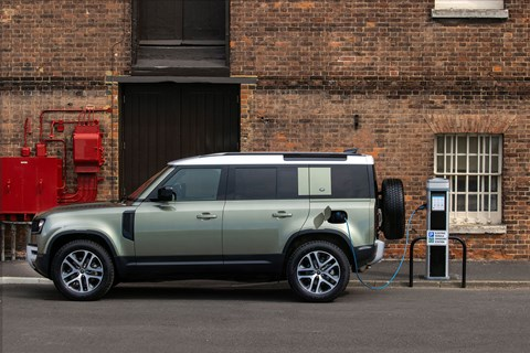 Land Rover Defender hybrid: rough and ready for silent e-running