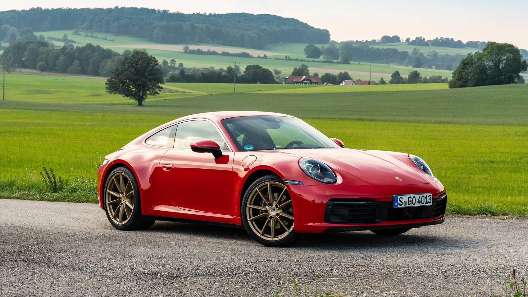 Porsche 992 Carrera 2 review by CAR magazine UK