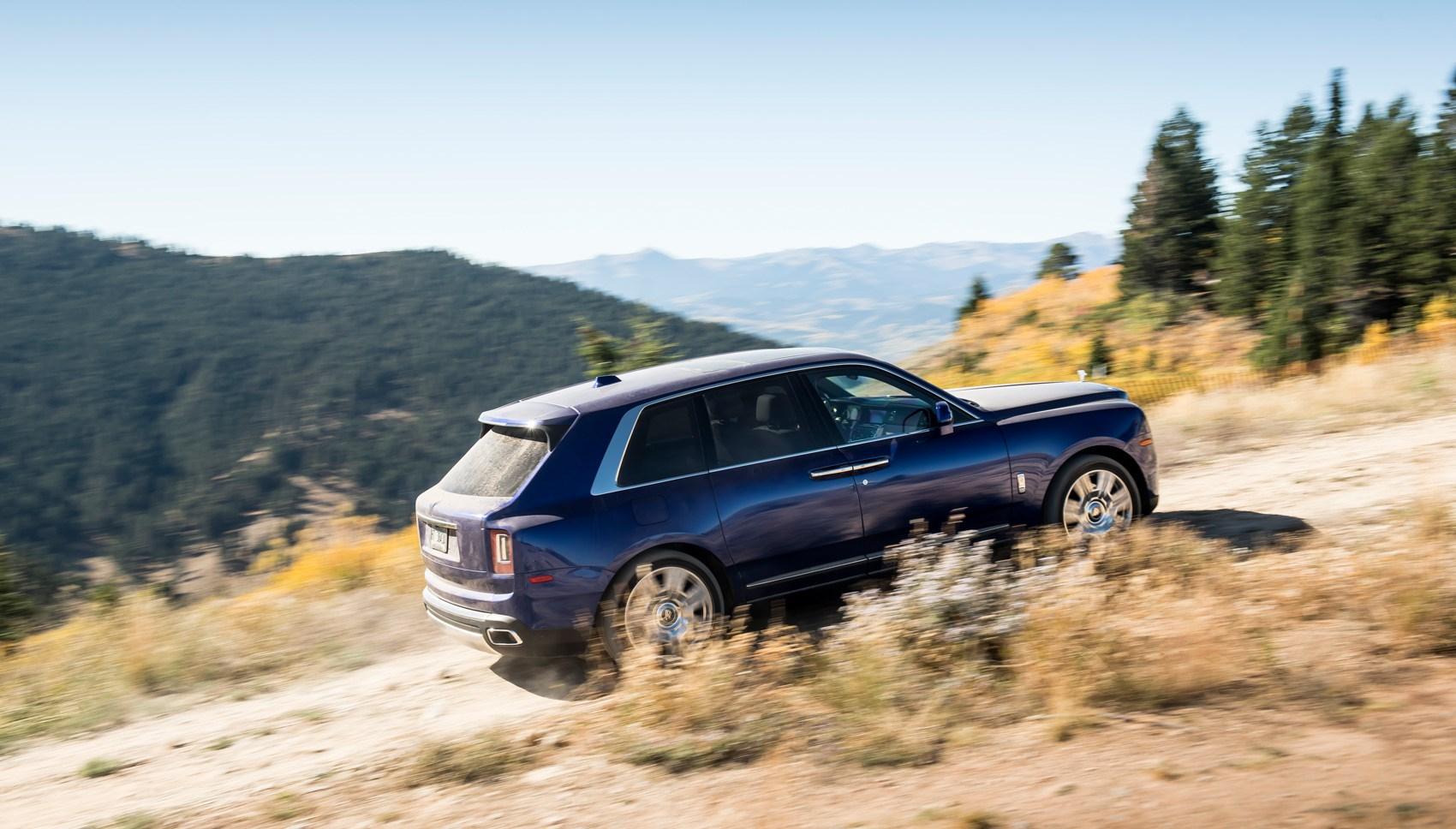 Rolls-Royce Cullinan off-road