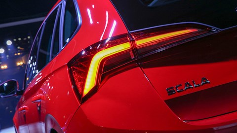 Skoda Scala rear light