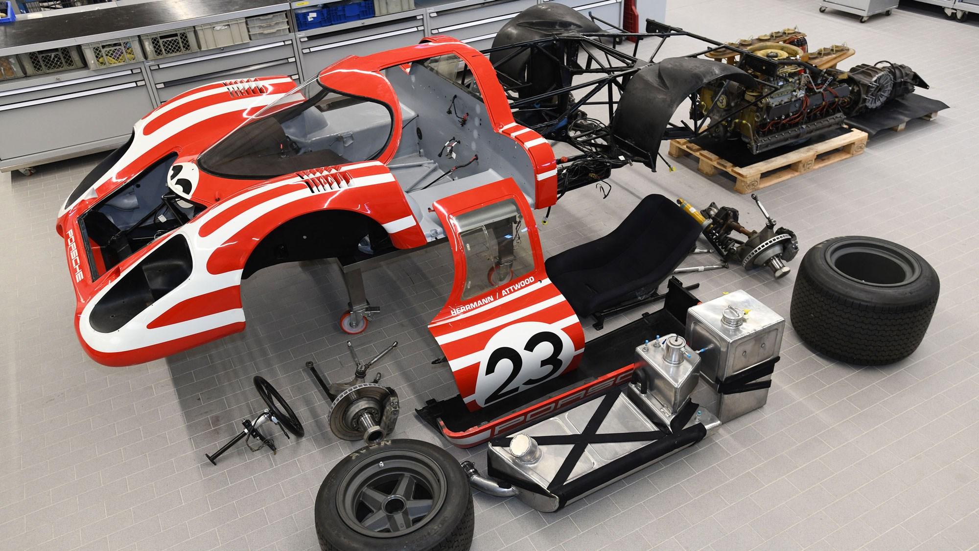 Porsche 917 At 50 Restoring Chassis 001 Car Magazine