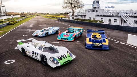 917 display at Goodwood