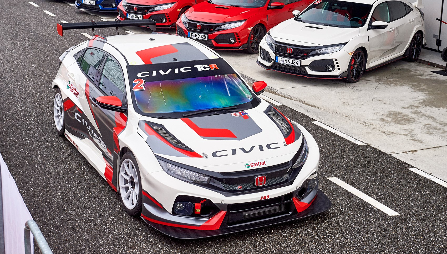 Honda Civic TCR overhead