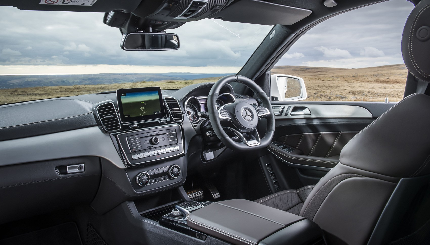 Mercedes-AMG GLS63 interior