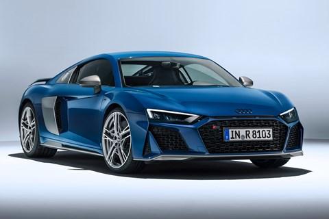2018 Audi R8 rear tracking