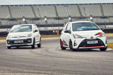 Best hot hatch 2019 yaris up cornering