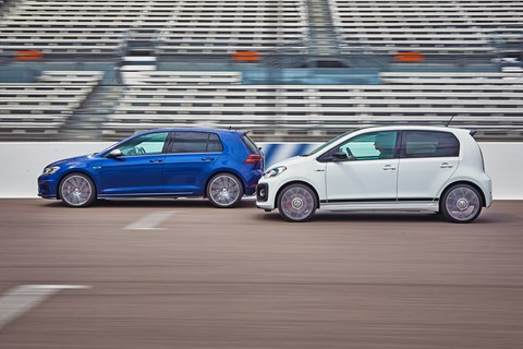 Best hot hatch 2019 VW side pan