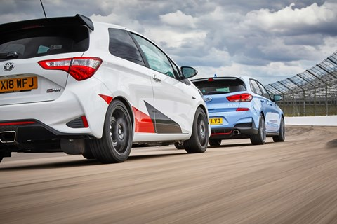 Best hot hatch 2019 yaris i30n