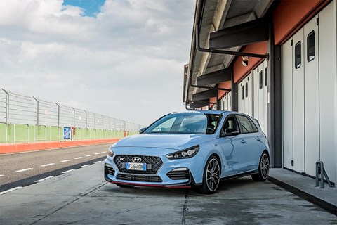 Best hot hatch 2019 civic megane i30n group