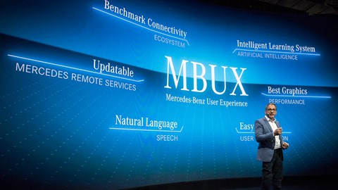 Mercedes MBUX: a new kind of infotainment