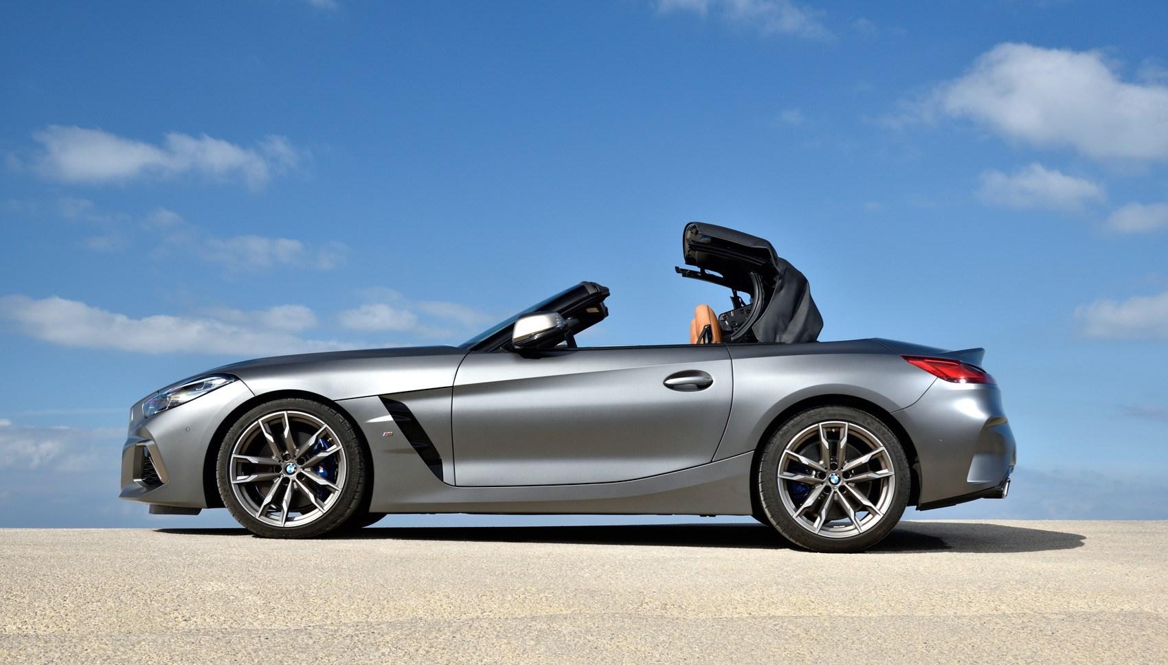 BMW Z4 roof