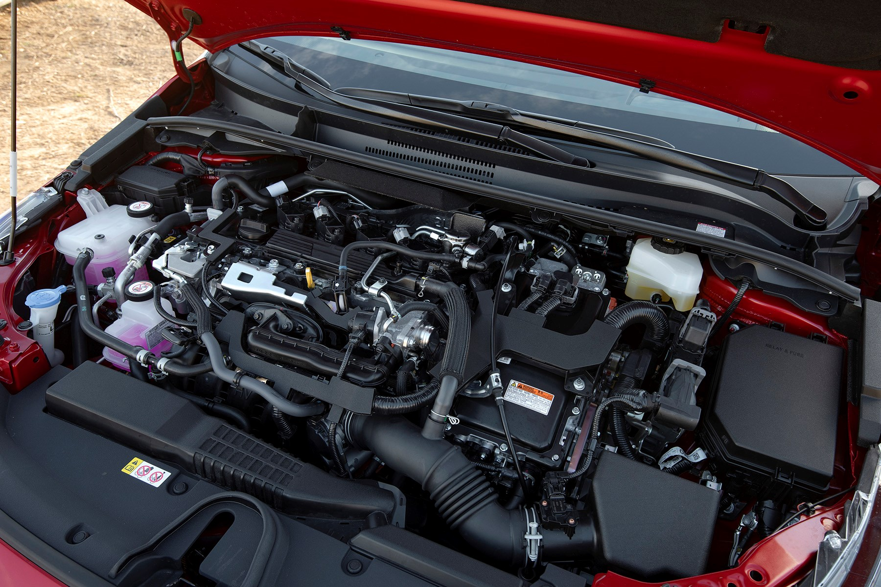 Toyota Corolla Battery >> Toyota Corolla Hybrid Review Car Magazine