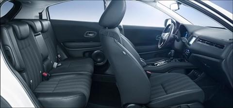 Cabin of new HR-V has Magic Seats