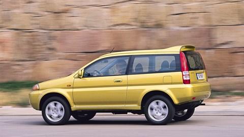 The original 1990s Honda HR-V. A Hormone Replacement Vehicle?