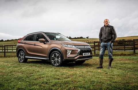 Steve Moody and the CAR magazine Mitsubishi Eclipse Cross