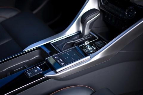 Mitsubishi Eclipse Cross CVT gearbox