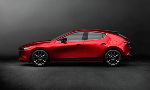 New 2019 Mazda 3 hatchback