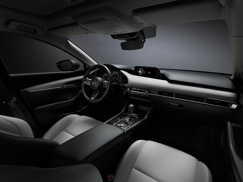 Mazda 3 interior and cabin