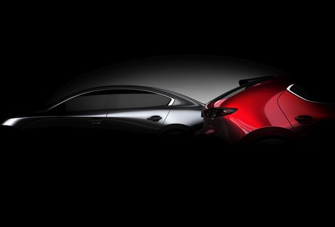 New 2019 Mazda 3 first official photo