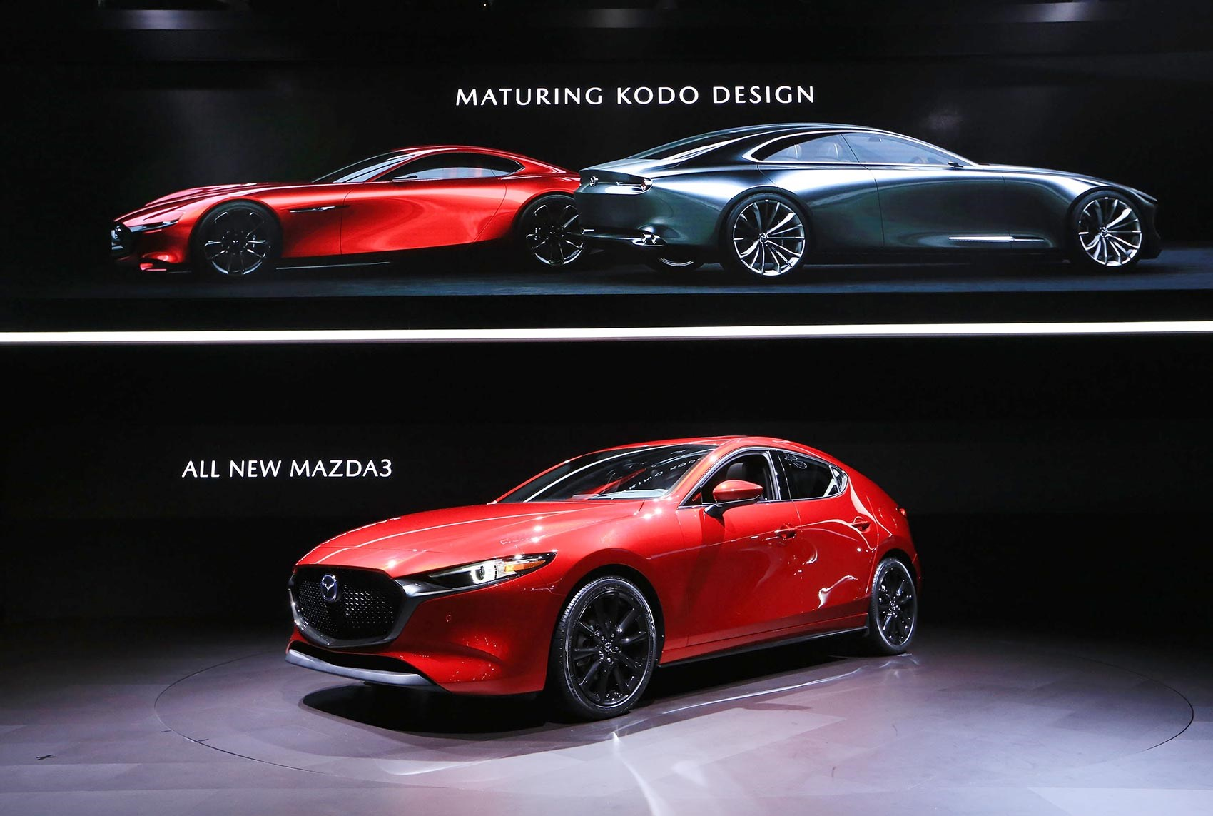 The New 2019 Mazda 3 Unveiled At La Motor Show