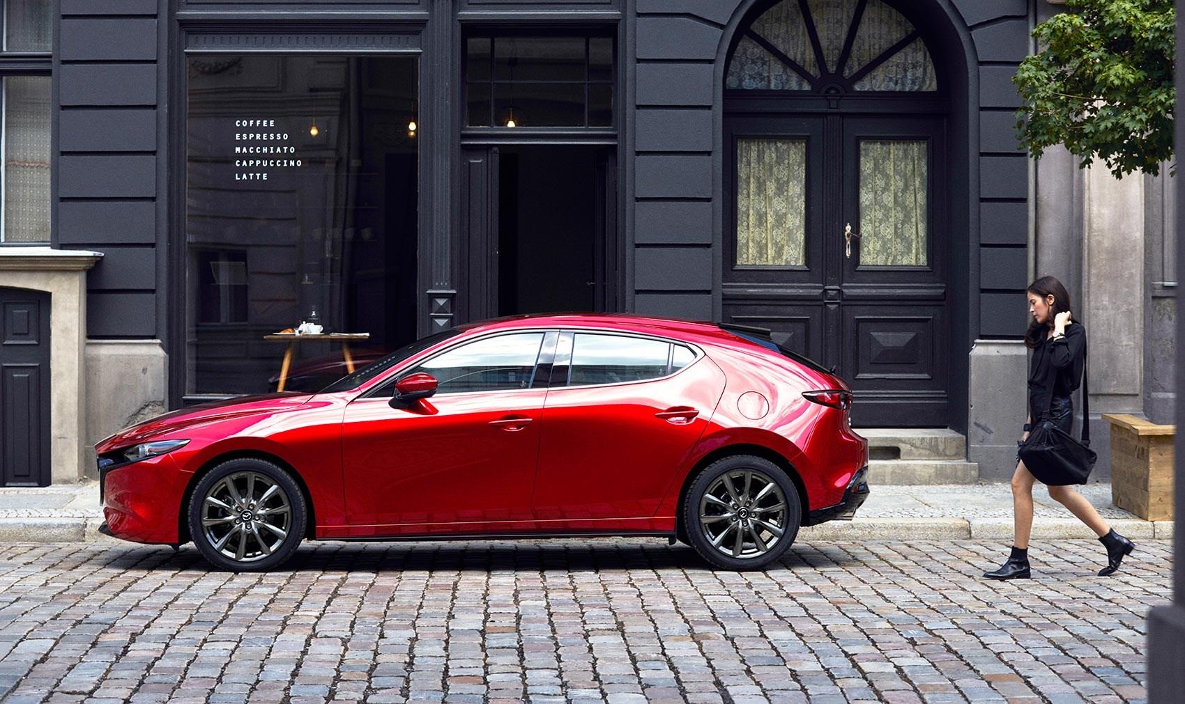 Mazda 3 hatchback manual 2019