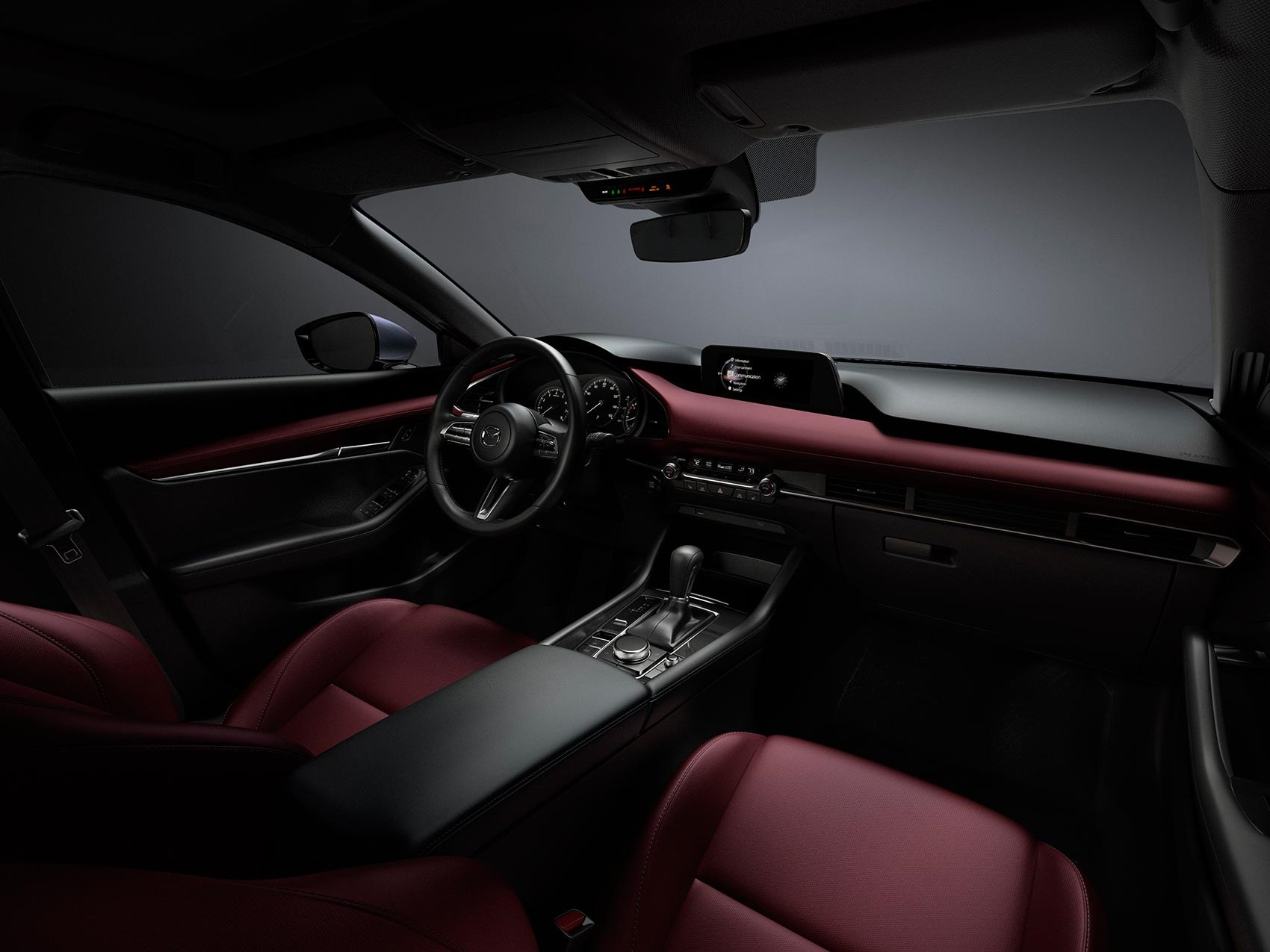 Inside the new Mazda 3 interior: more adjustment for seats and steering  wheel