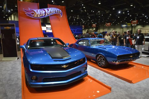 Real-life Hot Wheels cars have been produced by manufacturers as publicity stunts