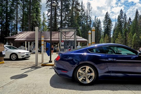 American road trip: exploring the west coast in a Ford