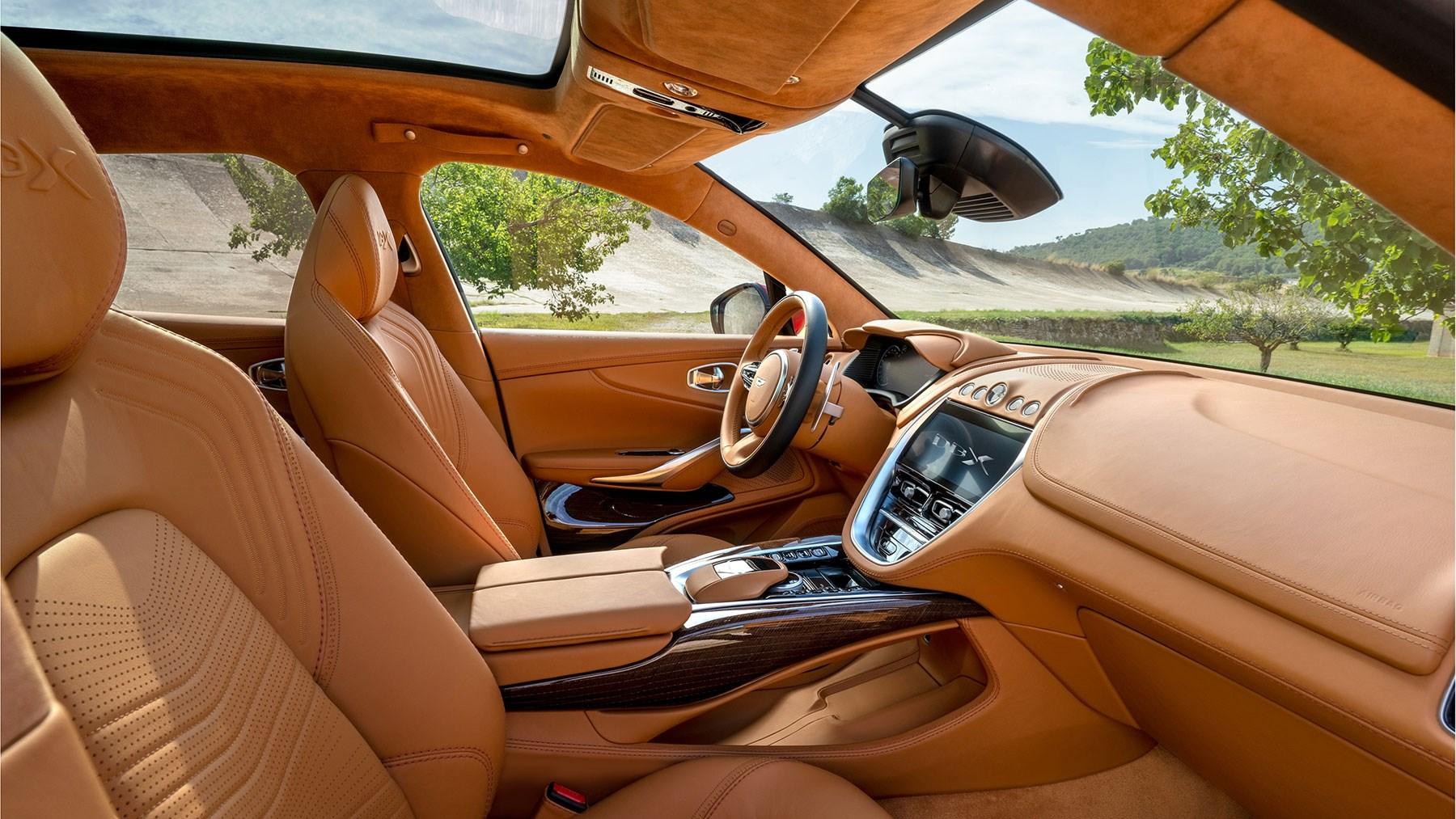 Aston Martin Dbx First Suv Rolls Off Production Line Car Magazine