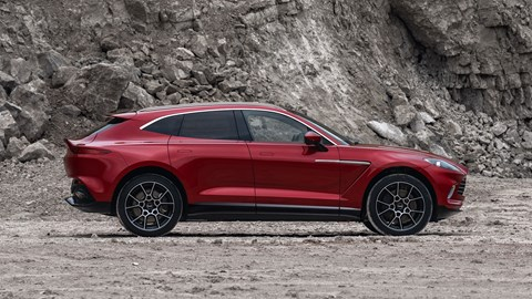 Aston Martin DBX side profile
