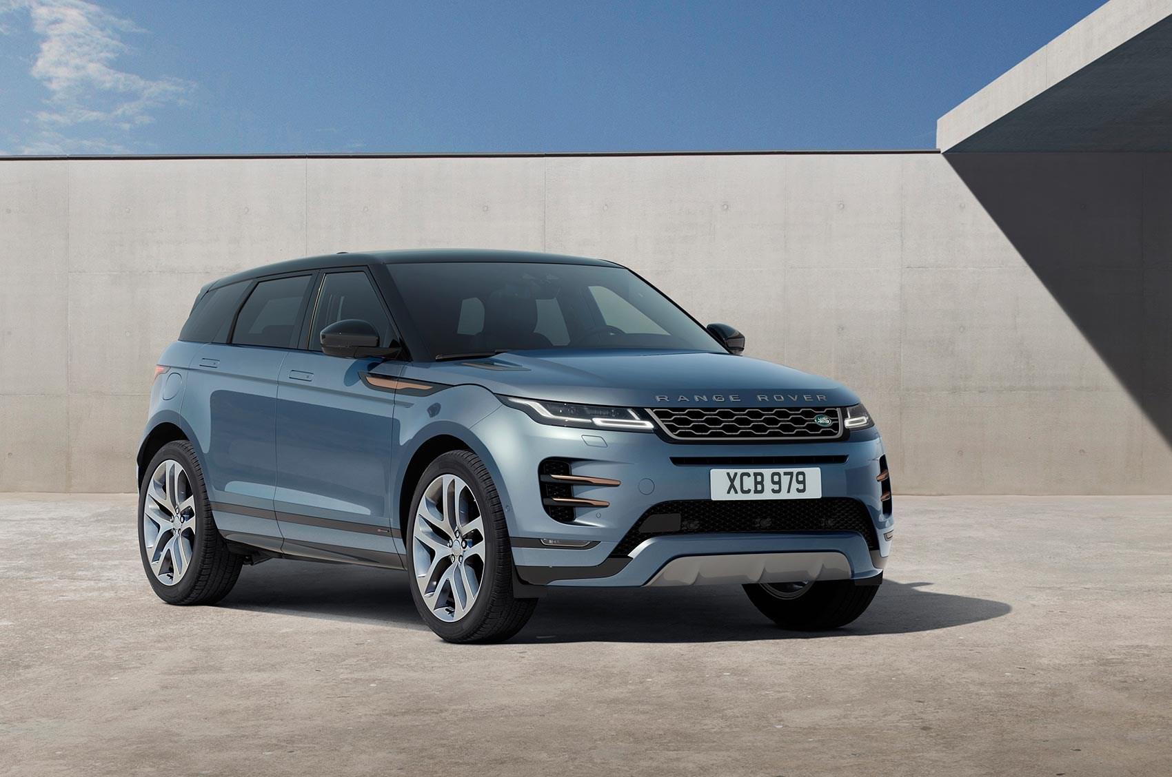 New Range Rover >> New Range Rover Evoque 2019 Revealed Car Magazine