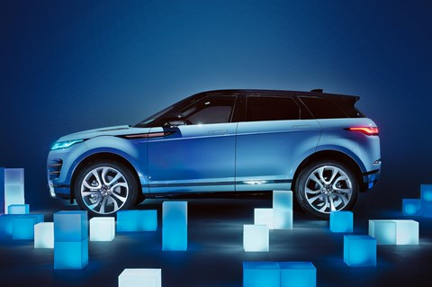 Evoque studio side